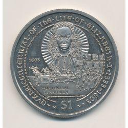 British virgin islands - 1 Dollar - 2003 - Elisabeth II
