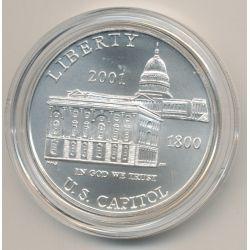 Etats-Unis - 1 Dollar 2001 - US Capitol