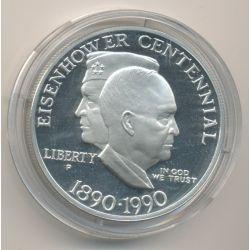 Etats-Unis - 1 Dollar 1990 - Eisenhower