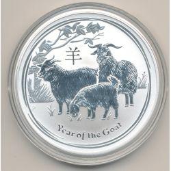 Australie - 1 Dollar 2015 - Année de la chèvre