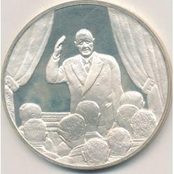 Médaille Hommage De Gaulle - Conférence de presse - 31 janvier 1964