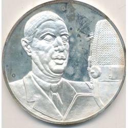 Médaille Hommage De Gaulle - L'appel du 18 juin