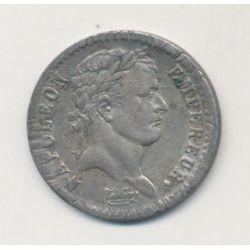 1/2 Franc Napoléon Empereur - 1808 BB Strasbourg