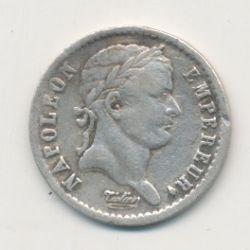 1/2 Franc Napoléon Empereur - 1810 D Lyon