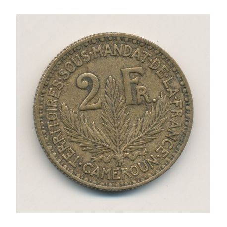Cameroun - 2 Francs - 1924
