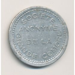 Comores - 25 centimes - ND 1915