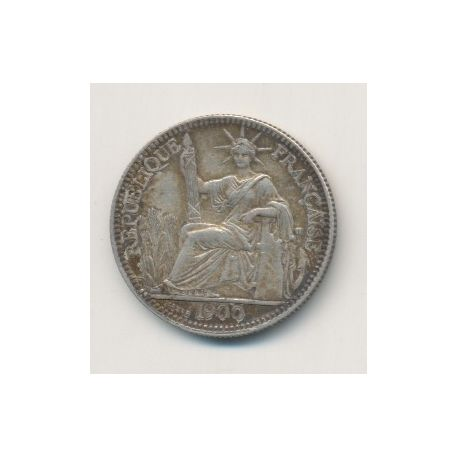 Indochine - 10 centimes - 1900 A