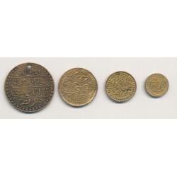 Algérie - Lot 4 médailles de propagande - 1857