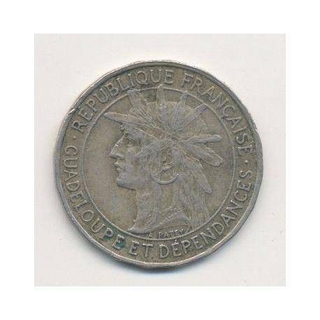 Guadeloupe - 1 Franc - 1921