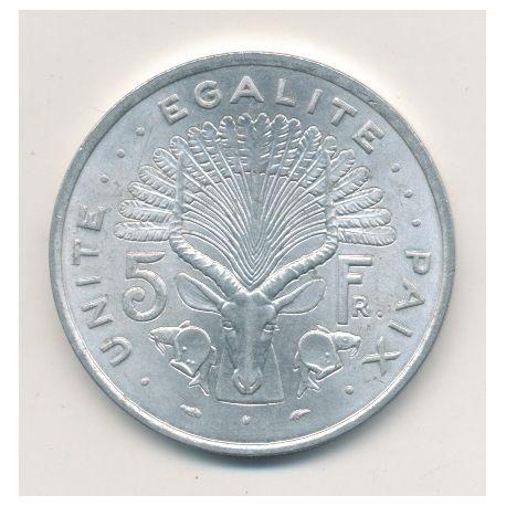 Djibouti - 5 Francs - 1977