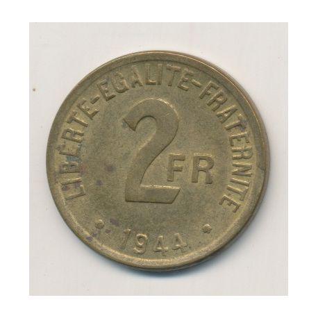 Algérie - 2 Francs - 1944