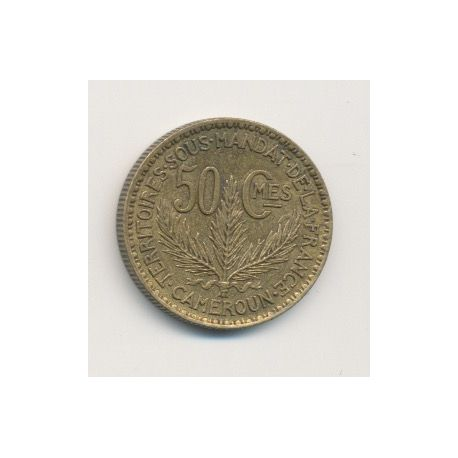 Cameroun - 50 centimes - 1924