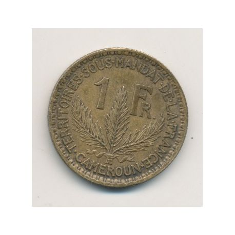 Cameroun - 1 Franc - 1926