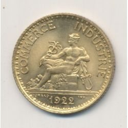 1 Franc Chambre de commerce - 1922