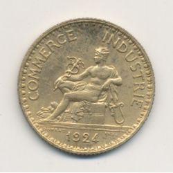 1 Franc Chambre de commerce - 1924