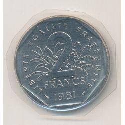 2 Francs Semeuse - 1981