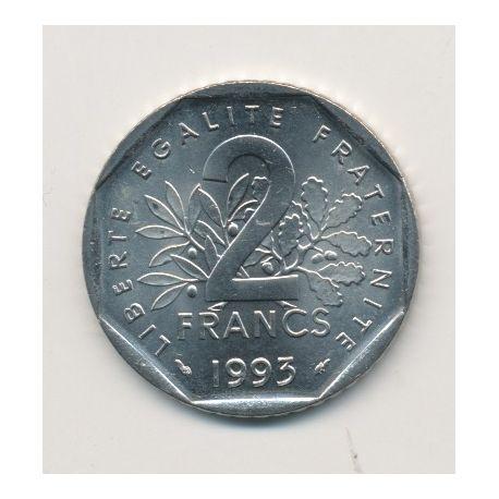2 Francs Semeuse - 1993