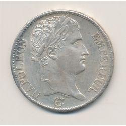 5 Francs Napoléon empereur - 1808 A Paris