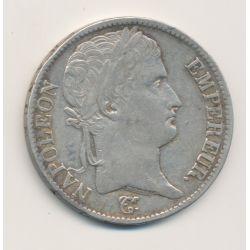 5 Francs Napoléon empereur - 1812 K Bordeaux