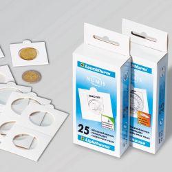 Étuis cartonnés à agrafer 27,5mm X100
