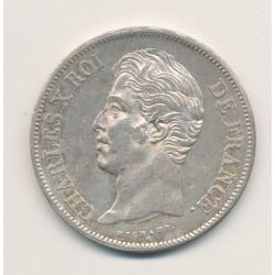 5 Francs Charles X - 1828 W Lille