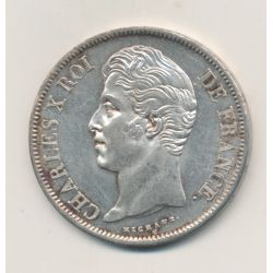 5 Francs Charles X - 1829 H La Rochelle