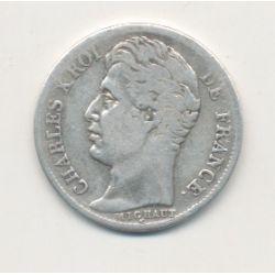 1/2 Franc Charles X - 1828 M Toulouse