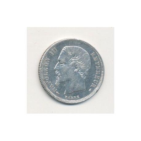 50 centimes Napoléon III - 1855 A Paris - Tête nue