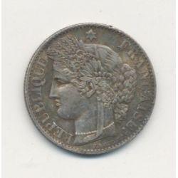 50 centimes Cérès - 1871 A Paris - TTB+