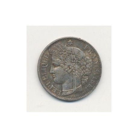 50 centimes Cérès - 1871 A Paris
