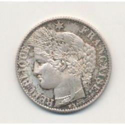 50 centimes Cérès - 1872 A Paris - SUP+