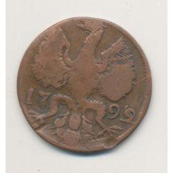 Allemagne - Aachen - 12 Heller - 1792