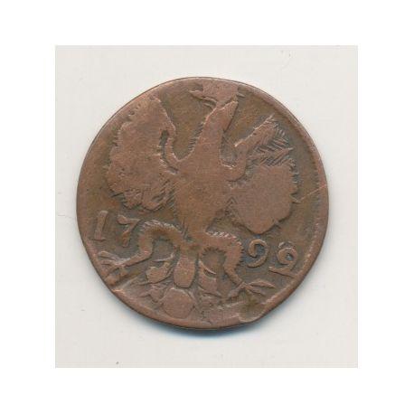 Allemagne - Aachen - 12 Heller - 1799