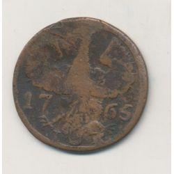 Allemagne - Aachen - 12 Heller - 1765