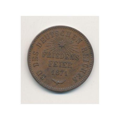 Allemagne - Baden - 1 Kreuzer - 1871