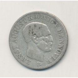 Allemagne - Hannovre - 1/12 Thaler - 1850 B