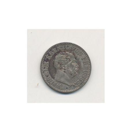 Allemagne - Prusse - 1/2 Silber groschen - 1870 B