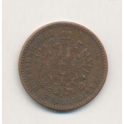 Autriche - 1 Kreuzer - 1858 M