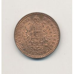 Autriche - 5/10 Kreuzer - 1881