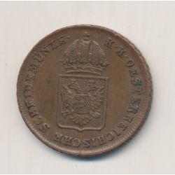 Autriche - 1 Kreuzer - 1816 A