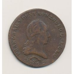 Autriche - 3 Kreuzer - 1812 B