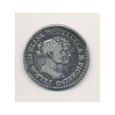 Italie - 1 Franco 1808 - Lucca