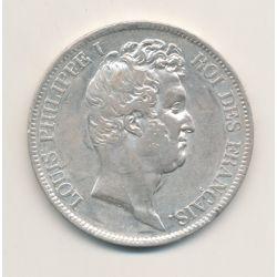 5 Francs Louis Philippe I - 1831 B Rouen - Tranche en creux