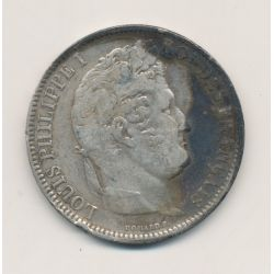5 Francs Louis philippe I - 1831 MA Marseille - Tranche en creux