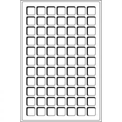 Plateaux TAB 77 Cases 22x22mm