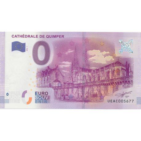 Billet Cathédrale de Quimper 2016