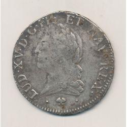 Louis XV - Écu à la vieille tête - 1772 L Bayonne