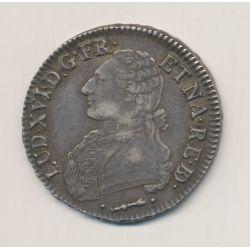 Louis XVI - Écu du Béarn aux lauriers - 1779 Pau