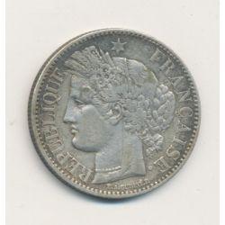 Cérès - 2 Francs - 1850 A paris - 2e République
