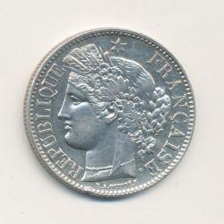 Cérès - 2 Francs - 1851 A Paris - 2e République